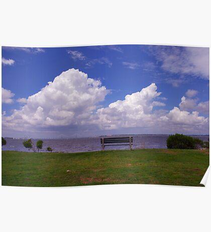 Sunrise Park on James Island, Charleston Poster