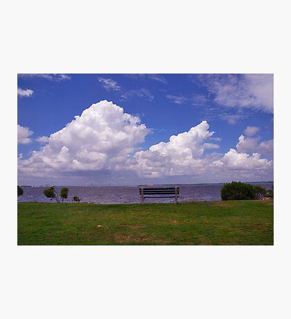 Sunrise Park on James Island, Charleston Photographic Print