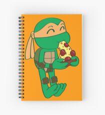 Precious Turtles - Michelangelo Spiral Notebook
