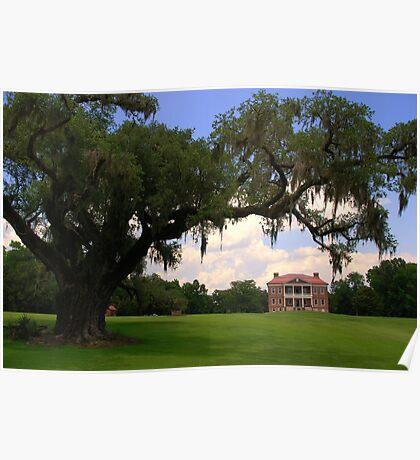 Drayton Hall Plantation, Charleston Poster