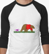 Winnie, and Piglet Men's Baseball ¾ T-Shirt