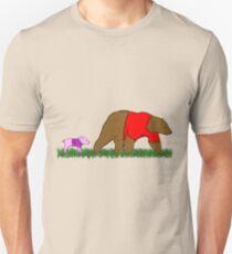 Winnie, and Piglet Unisex T-Shirt