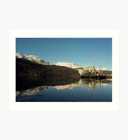 RFA in Gareloch Art Print