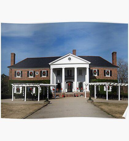 Boone Hall Plantation, Charleston Poster