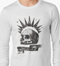 Chloe's Shirt - Misfit Skull Long Sleeve T-Shirt