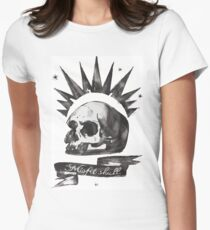 Chloe's Shirt - Misfit Skull Women's Fitted T-Shirt