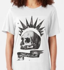 Chloes Shirt - Misfit Skull Slim Fit T-Shirt
