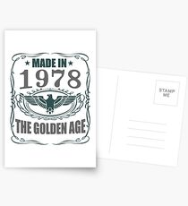 Made In 1978 - The Golden Age Postcards