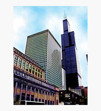 union station, chicago Photographic Print