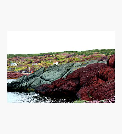 Red Rock Green Rock Photographic Print