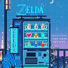 Zelda Vending Machine by Ronald Kuang