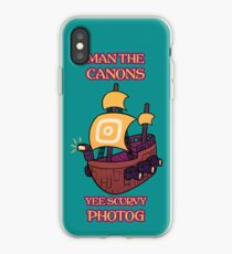 Man the Canons iPhone Case