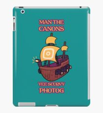 Man the Canons iPad Case/Skin