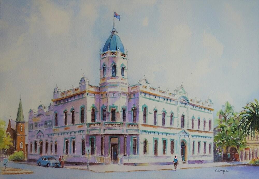 Rathaus, Forbes NSW von Sampa Bhakta