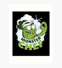 Monster cook Art Print