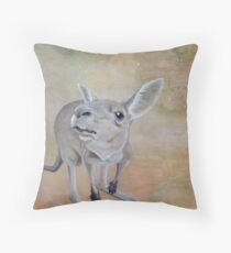 The Roos Throw Pillow