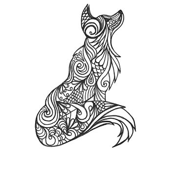 Tribal Wolf by fvmarissa