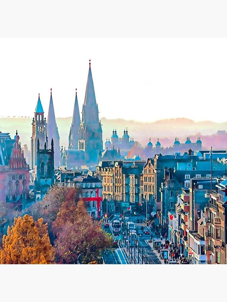 Edinburgh Cityscape Photo Art by campbellhall