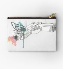 Life is Strange Gun Watercolored Studio Pouch