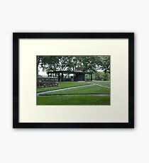 Glass House Framed Print