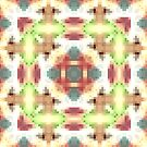 Abstract pixel pattern  by fuzzyfox