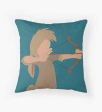 "Nibs Bow and ""Arrow"" Throw Pillow"