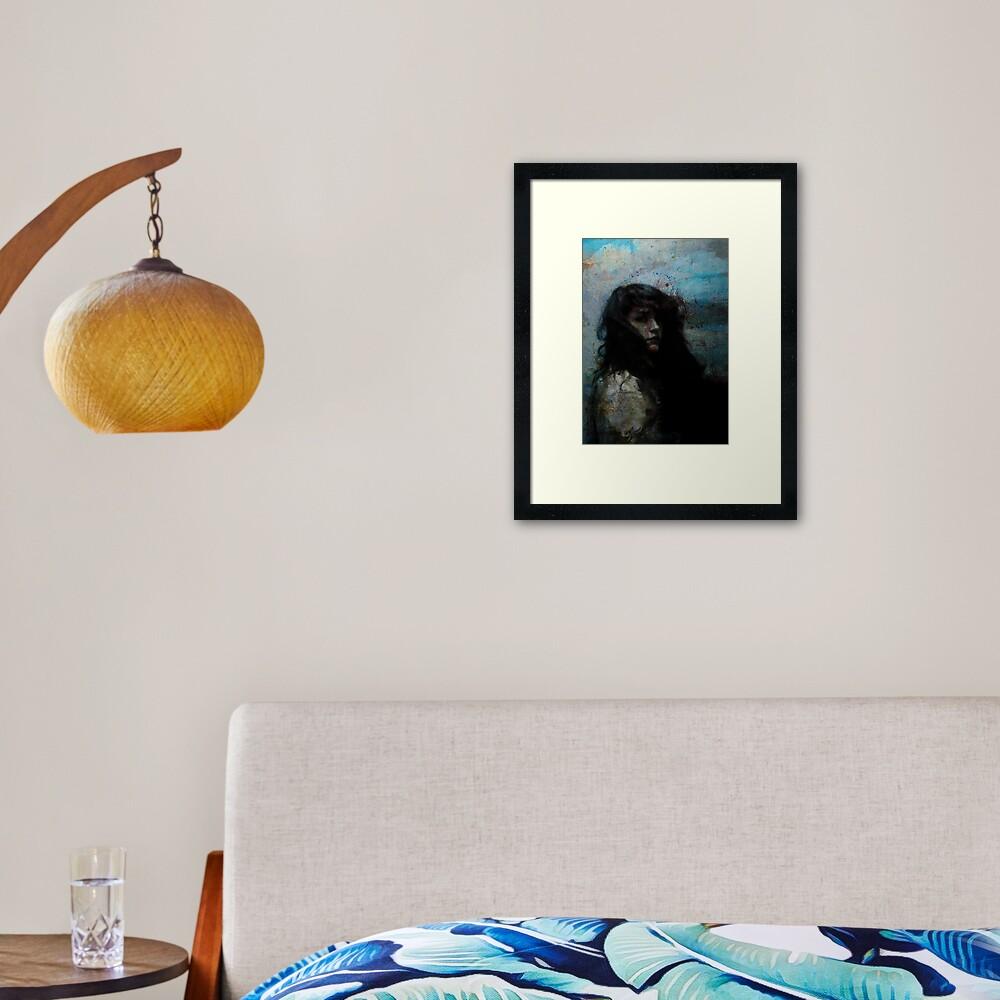 Stormbringer Framed Art Print