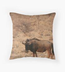 Wilderbeest - Etosha National Park Throw Pillow