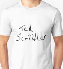 Ted Scribbles Unisex T-Shirt