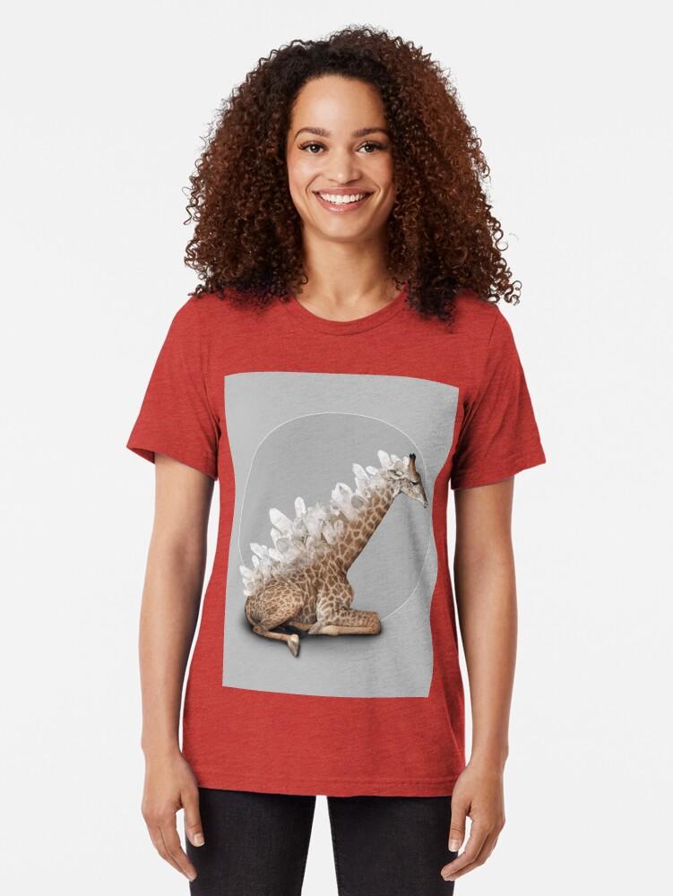 Alternate view of orenda III Tri-blend T-Shirt