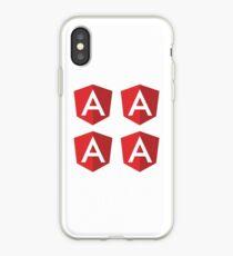 Angular - Das Javascript Framework-Logo iPhone-Hülle & Cover