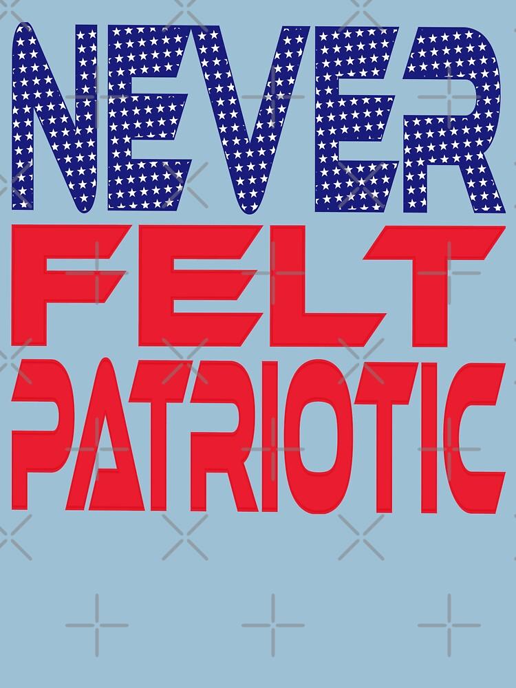 #OurPatriotism: Never Felt Patriotic by Devin by carbonfibreme