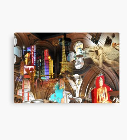 Come play in Las Vegas! Canvas Print