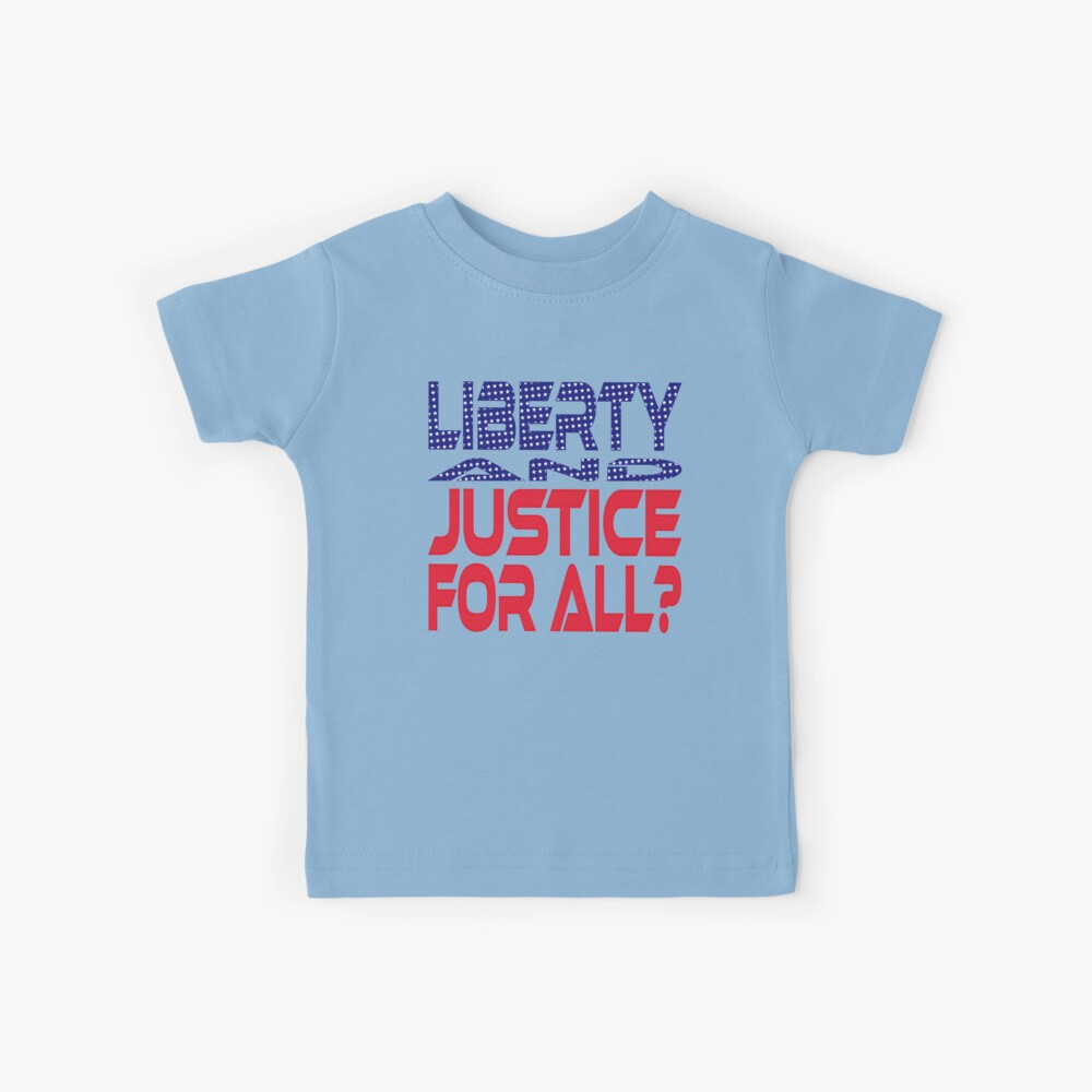 #OurPatriotism: Liberty and Justice for All? by Devin Kids T-Shirt