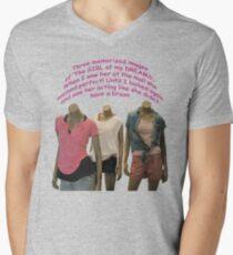 Dream Girl ~ without a brain + shopping APP Men's V-Neck T-Shirt