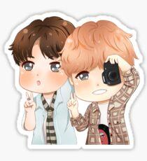 Copying Hyung Sticker