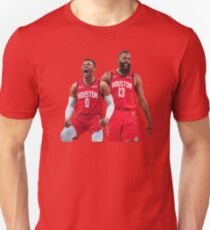 Russell Westbrook James Harden Rockets Slim Fit T-Shirt