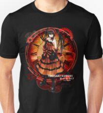 Tokisaki Kurumi Black Date-a-Live Anime T-shirt T-Shirt