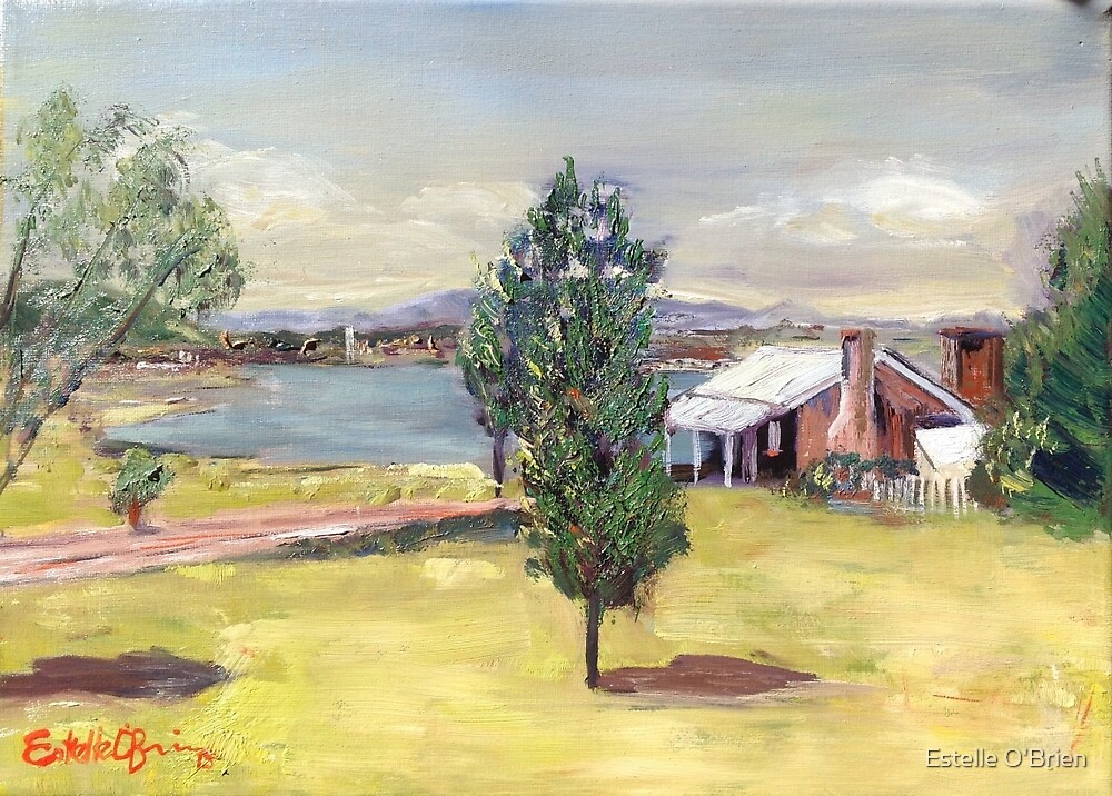 Blundell's Farmhouse, Canberra, 1960s by Estelle O'Brien