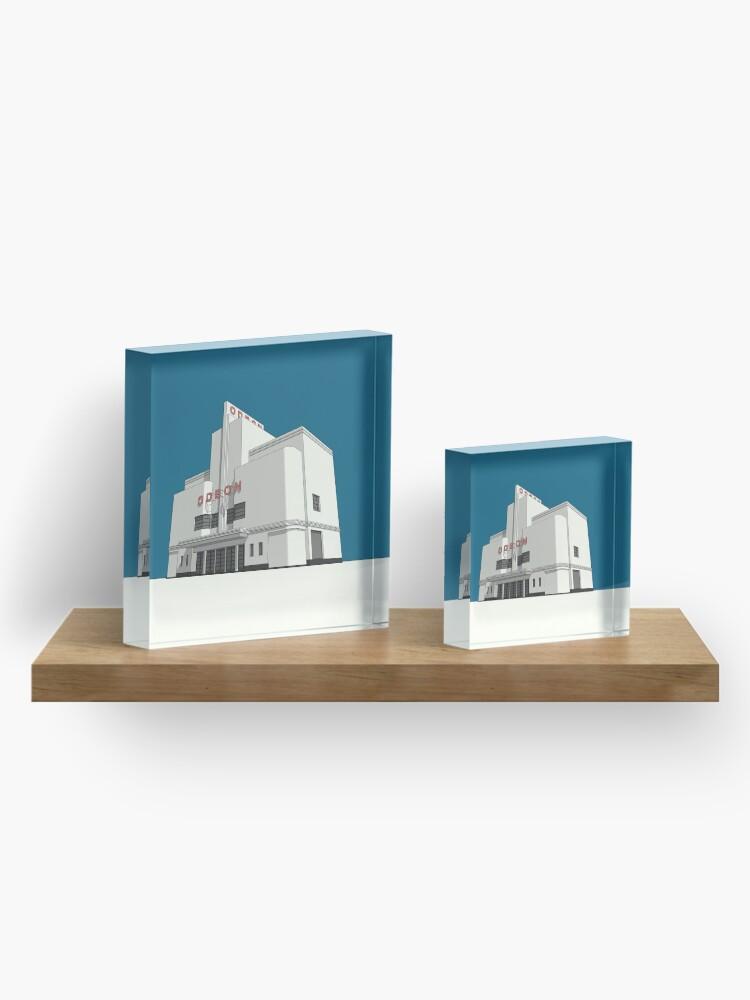 Alternate view of ODEON Balham Acrylic Block