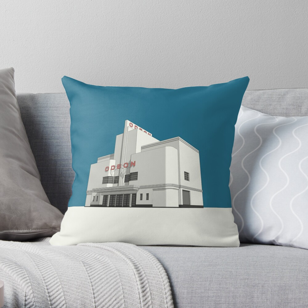 ODEON Balham Throw Pillow