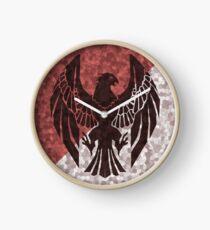 Black Eagles - Flat Fire Emblem Drei Häuser Uhr
