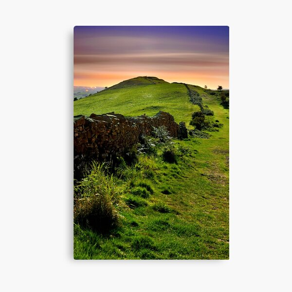 Moonlight on The Helm, Kendal Canvas Print