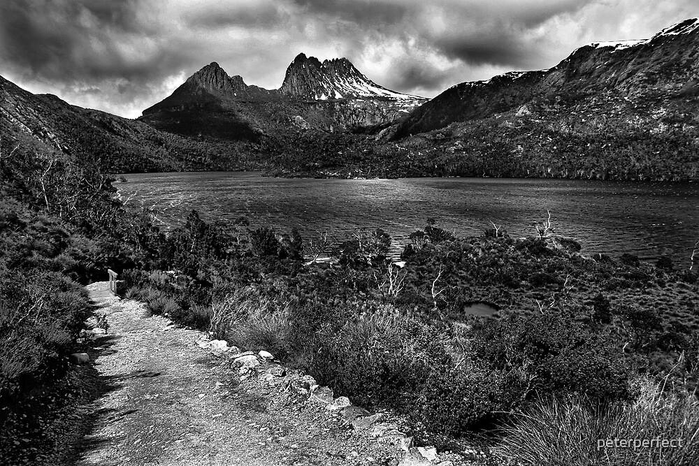 Cradle Mountain B&W - Tasmania, Australia by peterperfect