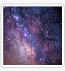 Pegatina Galaxy Nebula Design Outer Space Blue Purple