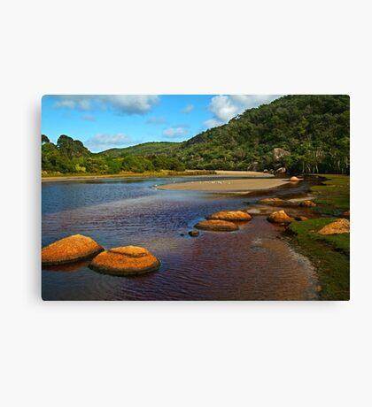 Tidal River,Wilsons Prom Canvas Print