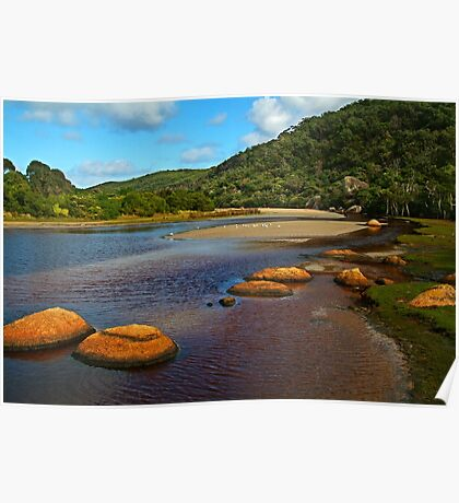 Tidal River,Wilsons Prom Poster