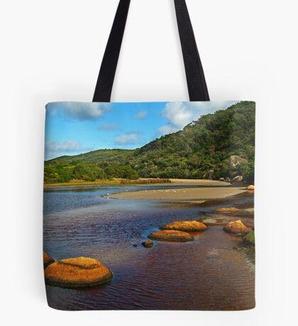 Tidal River,Wilsons Prom Tote Bag