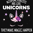 Acupuncturists Make Magic Happen, Acupuncture Unicorn Gift by Ripper19
