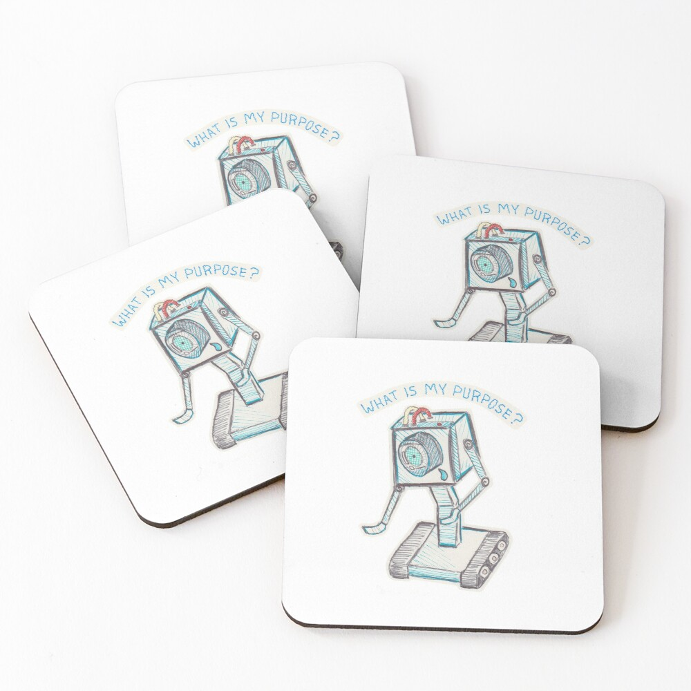 You Pass The Butter Coasters (Set of 4)